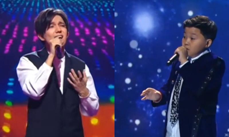 Dimash Kudaibergen and Yerzhan Maxim took part at the Muz TV Music